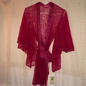 Lacy Betsy Johnson robe